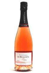 Brut rosé - champagne H. Deguerne