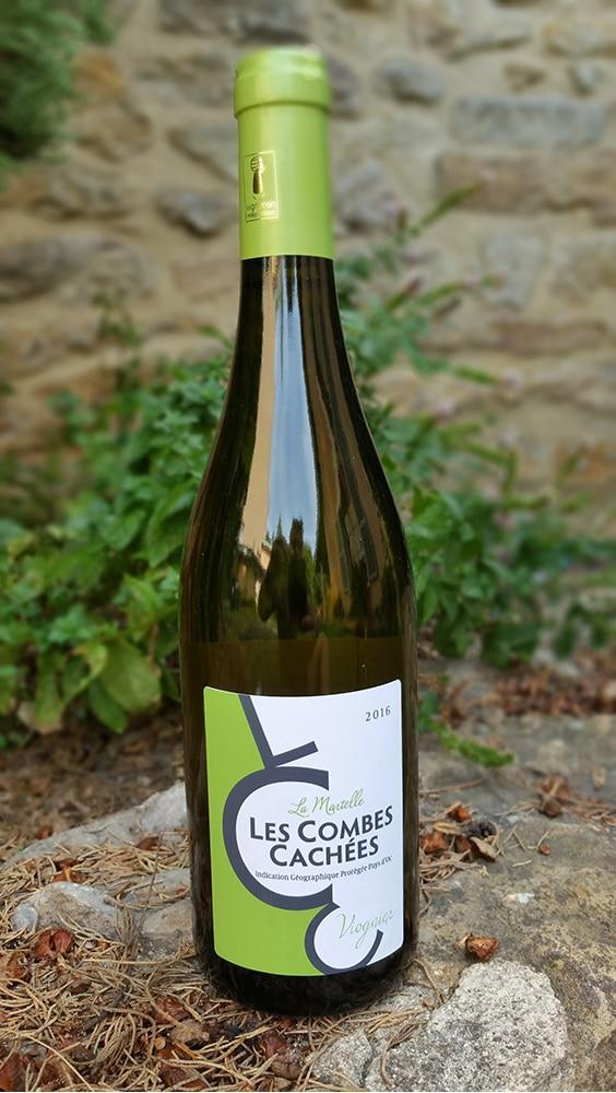 Les Combes Cachées – Viognier blanc «La Martelle» – Appellation «IGP Pays d'Oc»