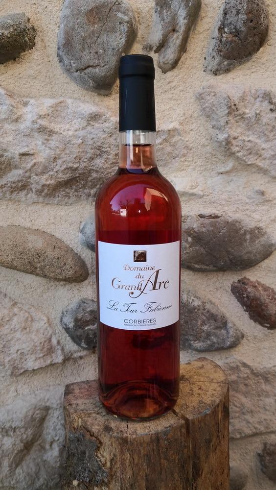 Domaine du Grand Arc – La Tour Fabienne rosé – AOP Corbières