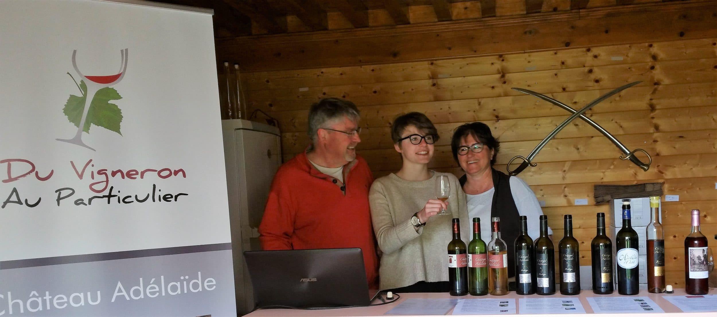 Venez déguster nos vins