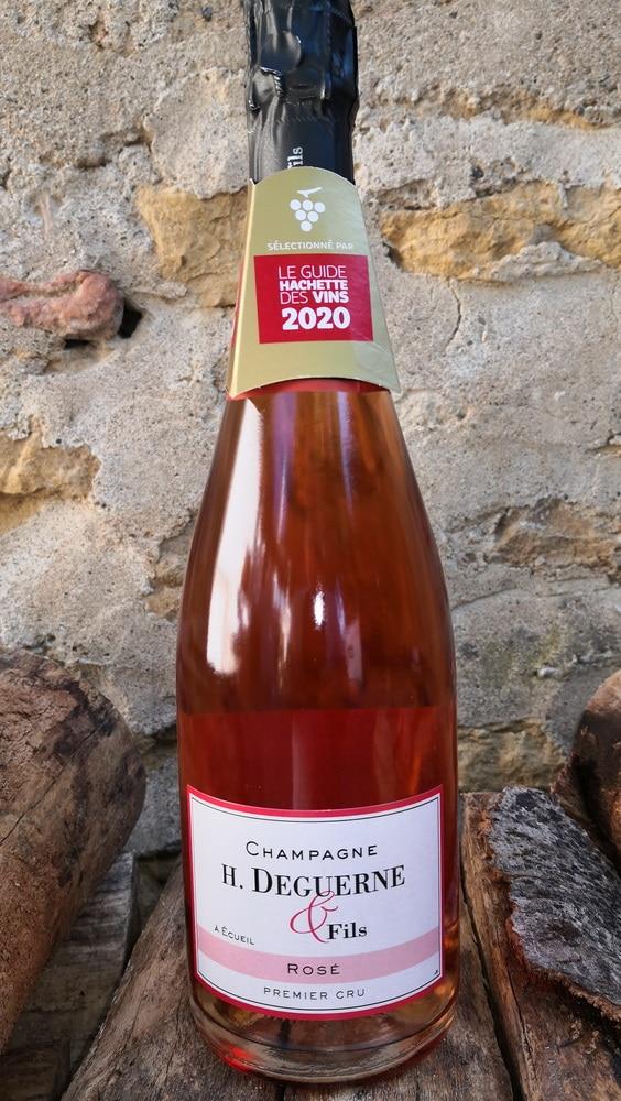 Champagne H Deguerne et fils - Brut Rosé