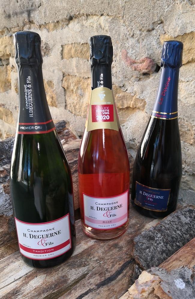 gamme champagne Deguerne