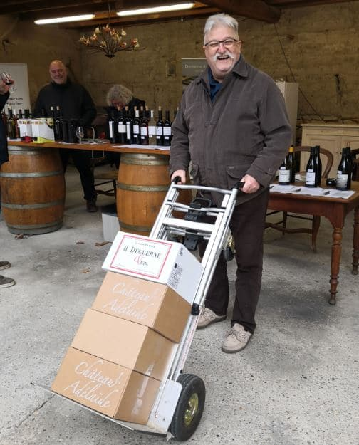 vente et dégustation de vins